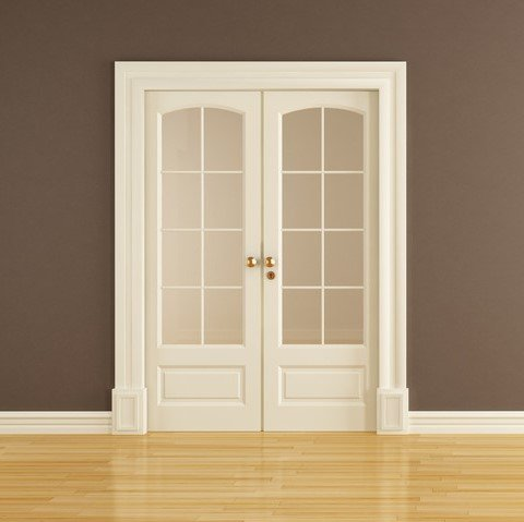 Double cavity door